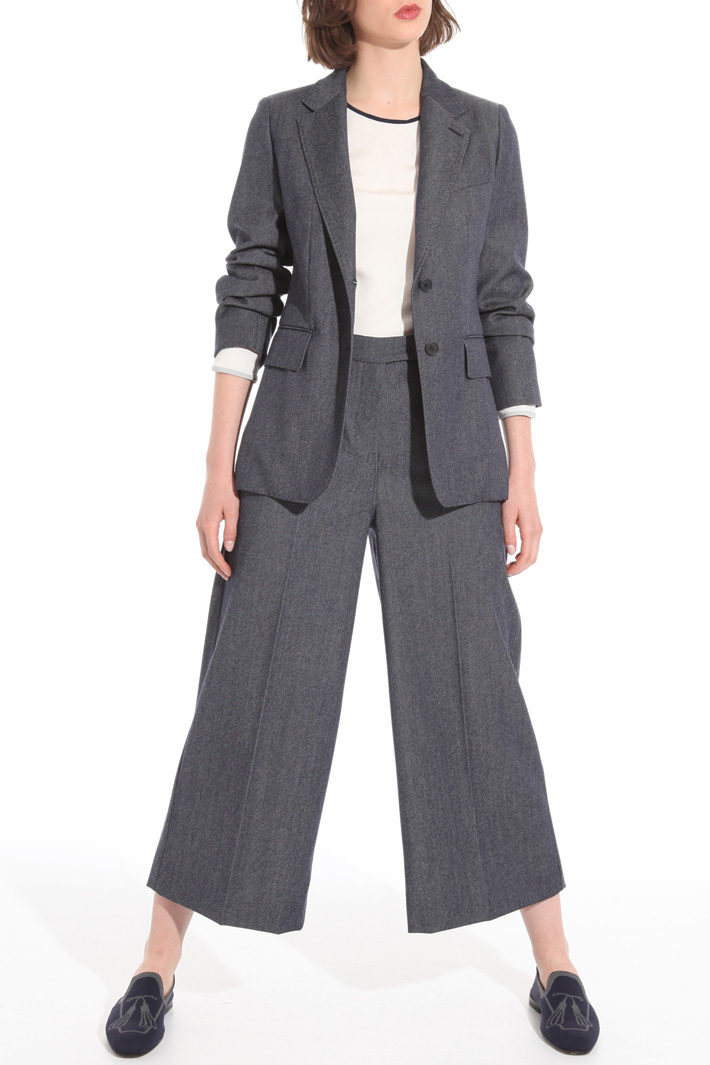 Denim-effect blazer Intrend