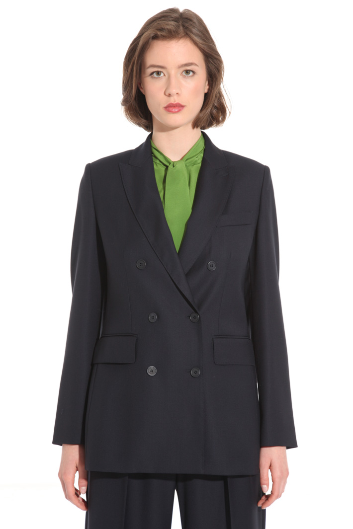 Double-breasted wool jacket Intrend