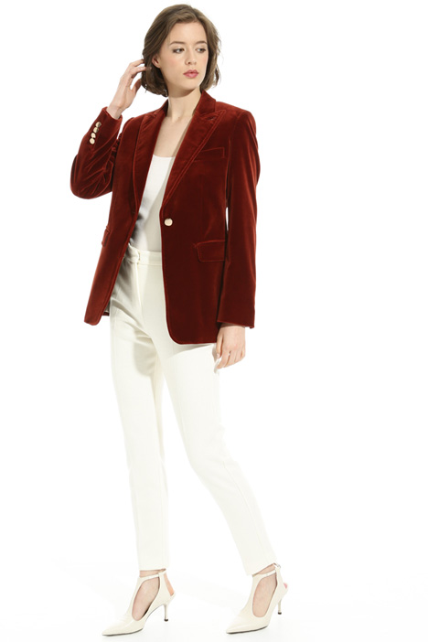 Smooth velvet blazer Intrend