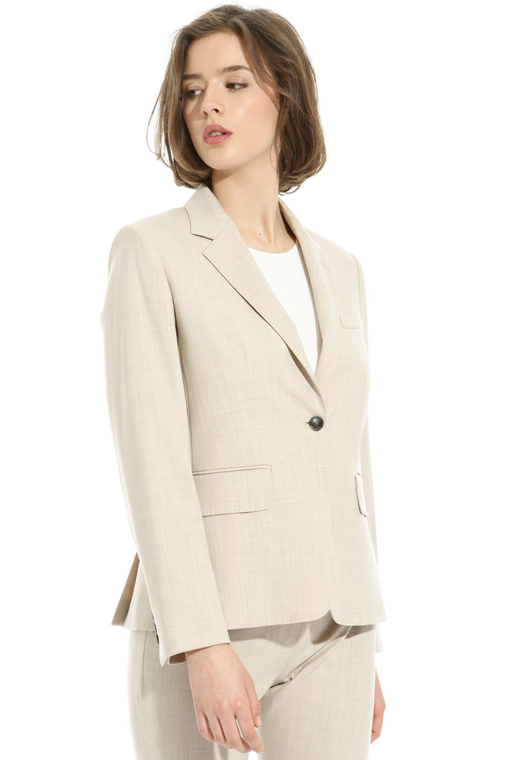 Stretch wool blazer Intrend