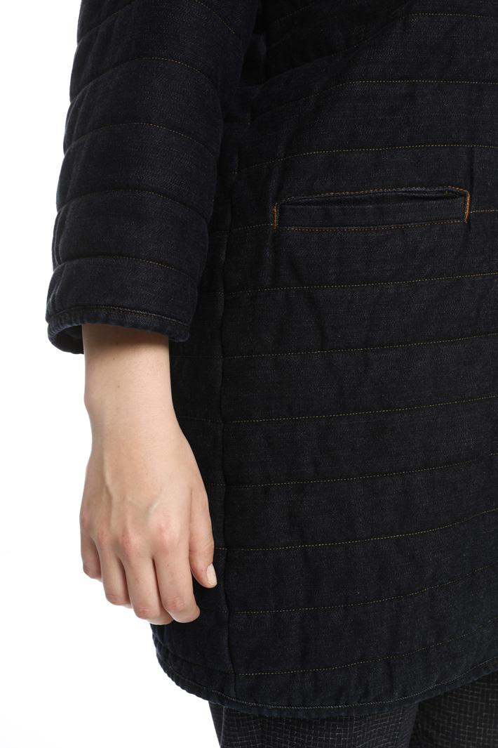 Denim padded jacket  Intrend