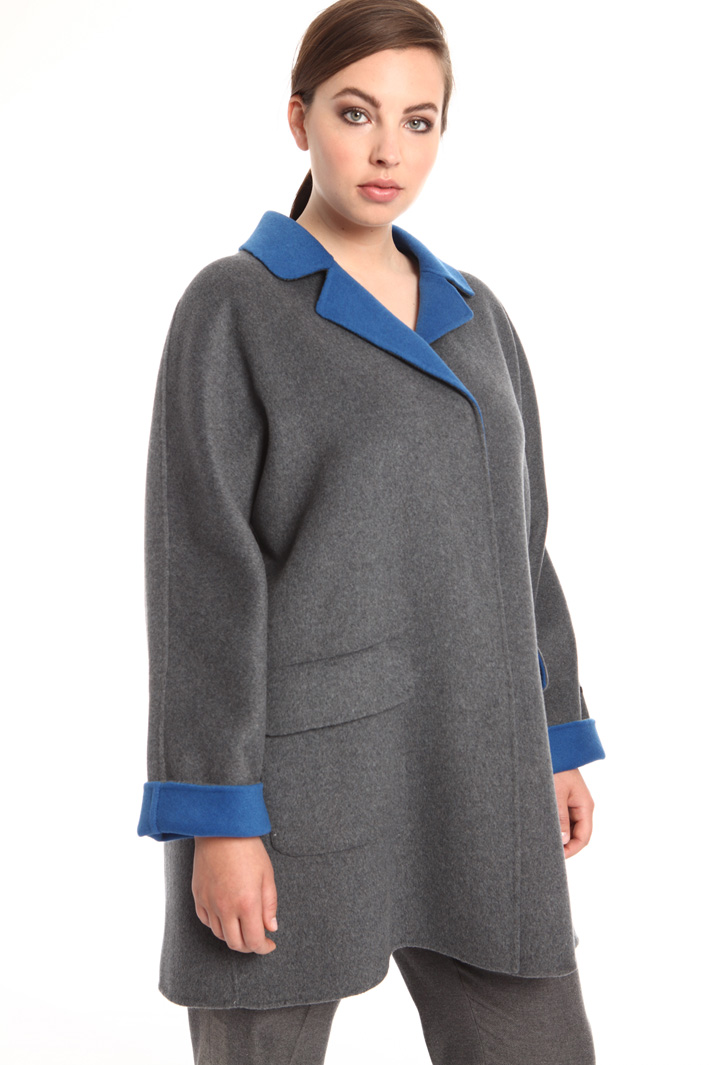 Double felted wool coat Intrend