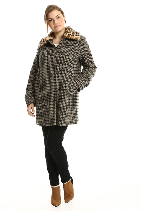 Houndstooth coat  Intrend