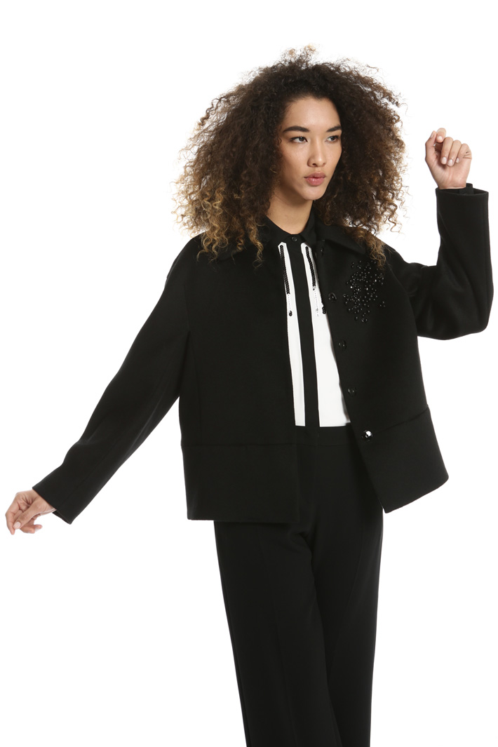 Jewel embroidered jacket Intrend