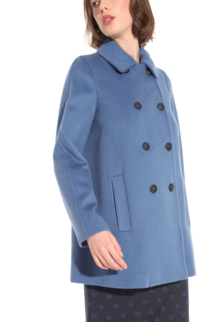 Double-breasted drap coat Intrend