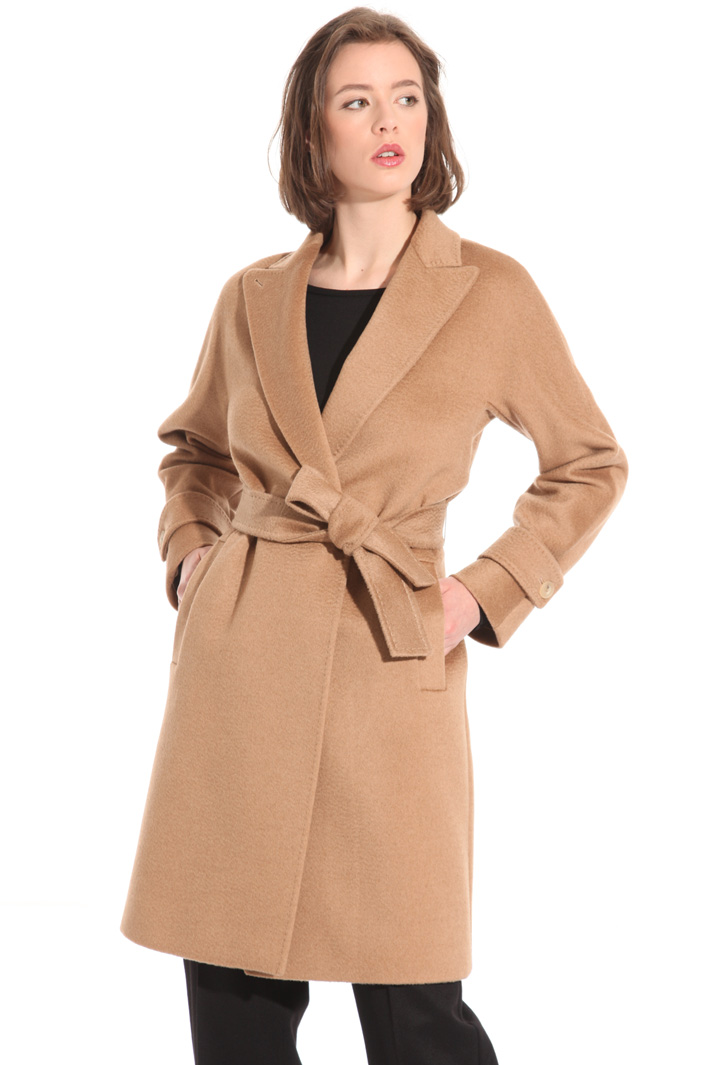 Belted coat Intrend