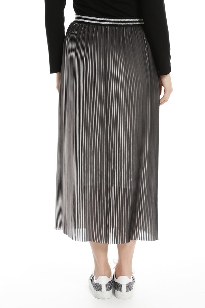 Two-tone pleated skirt Intrend