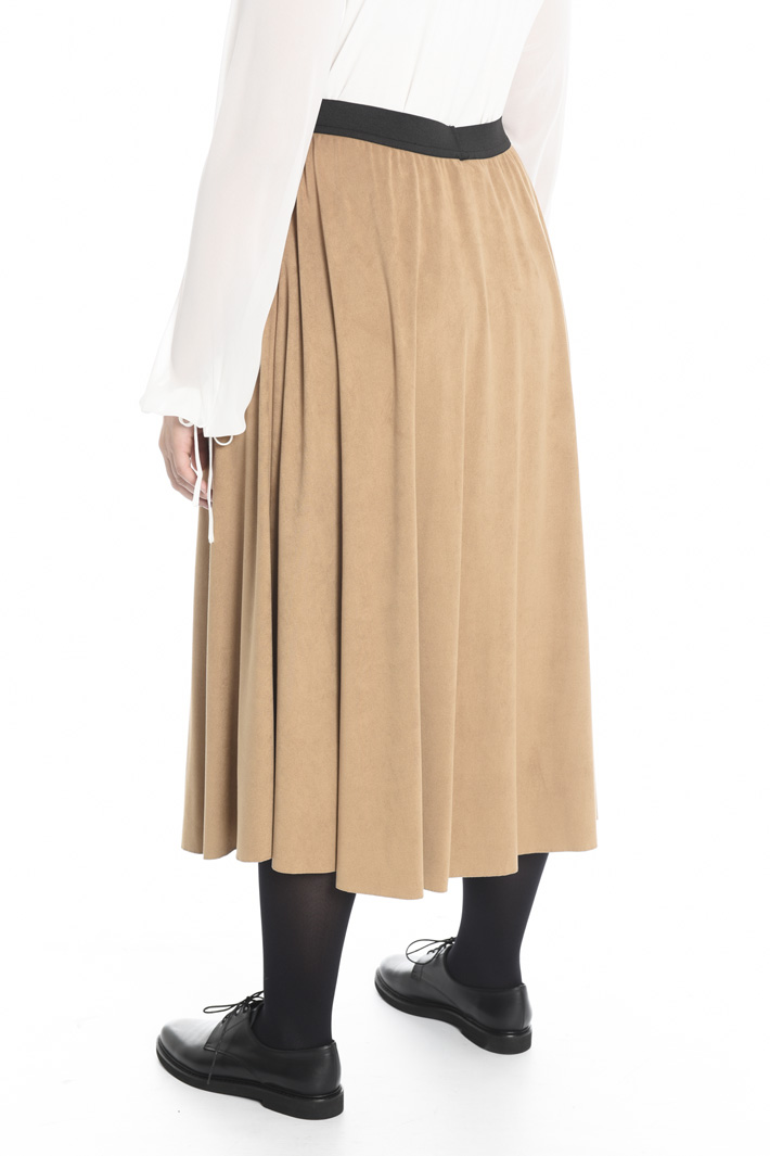 Suede-effect skirt Intrend