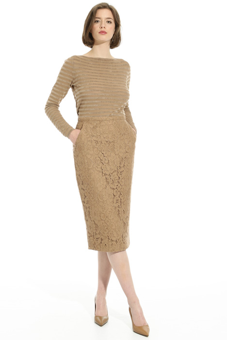 Rebrodé lace skirt Intrend