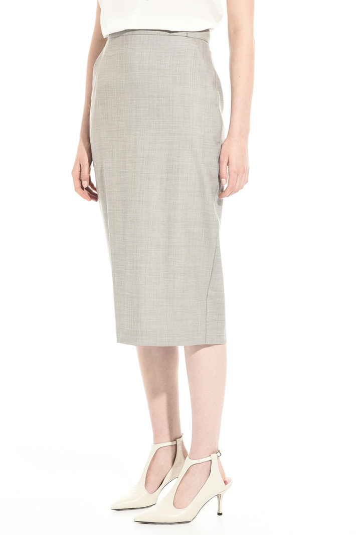 Wool sheath skirt Intrend