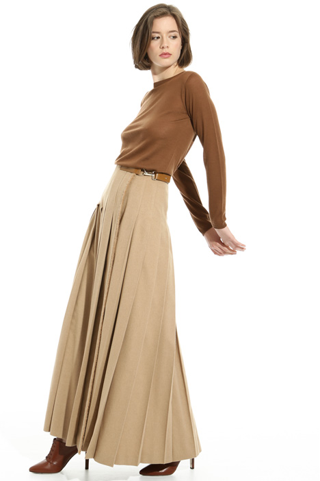 Pleated drap skirt Intrend
