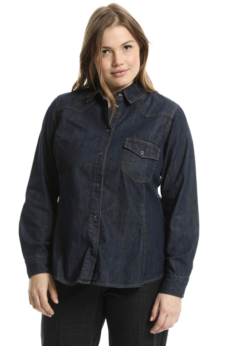 Camicia in denim leggero Intrend