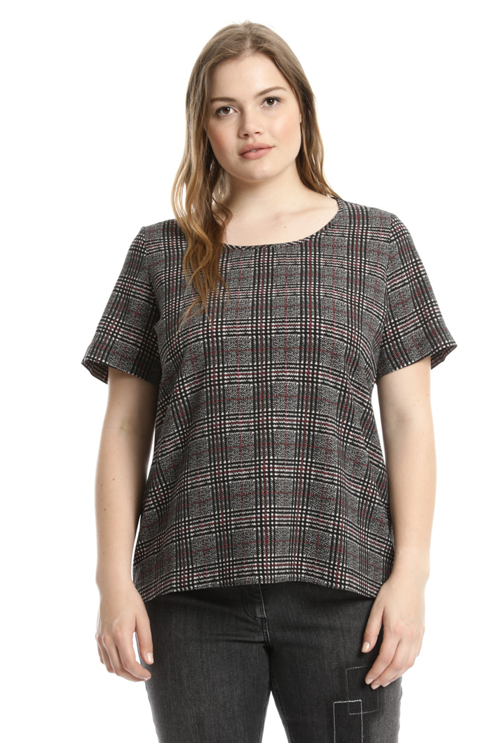 Top in fluid fabric Intrend