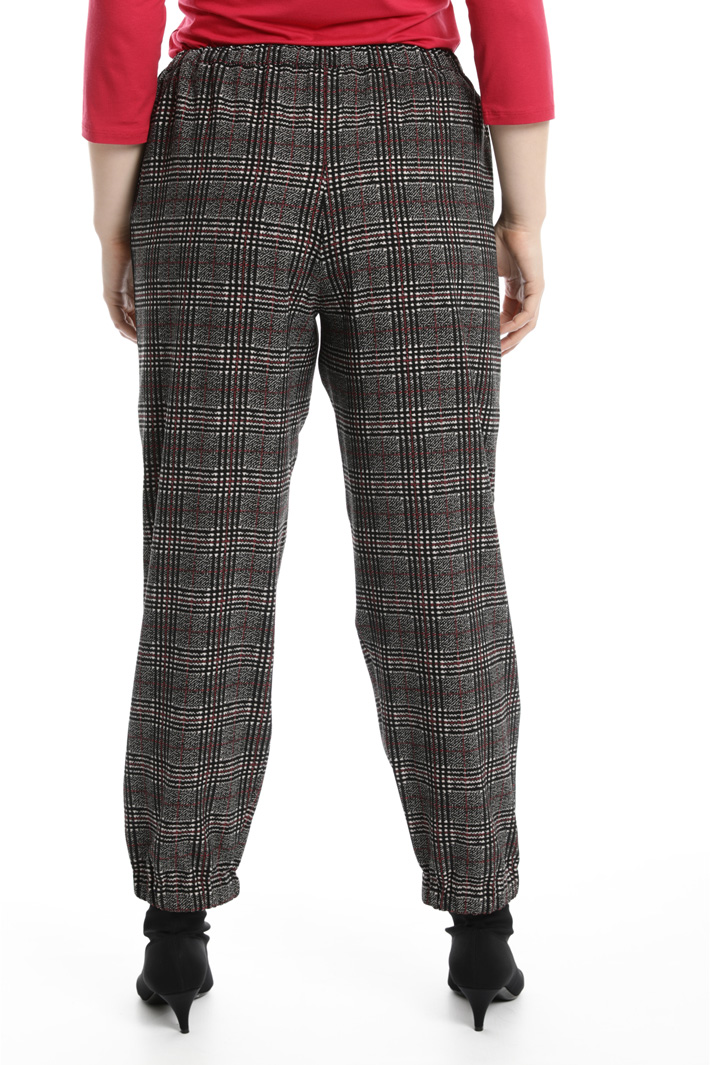 Printed jogging-style trousers Intrend