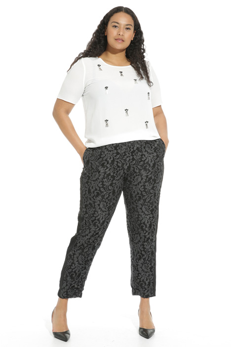 Lace jogging-style trousers Intrend