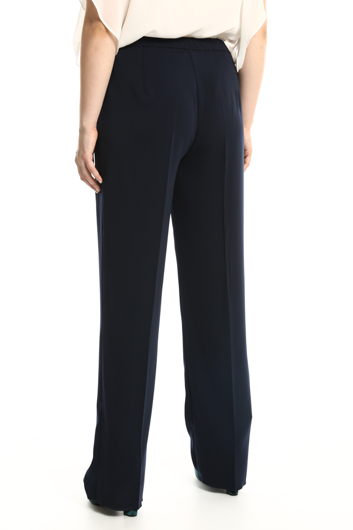Fluid fabric trousers Intrend