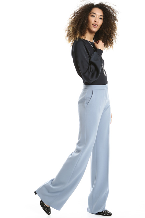 Long flared trousers Intrend