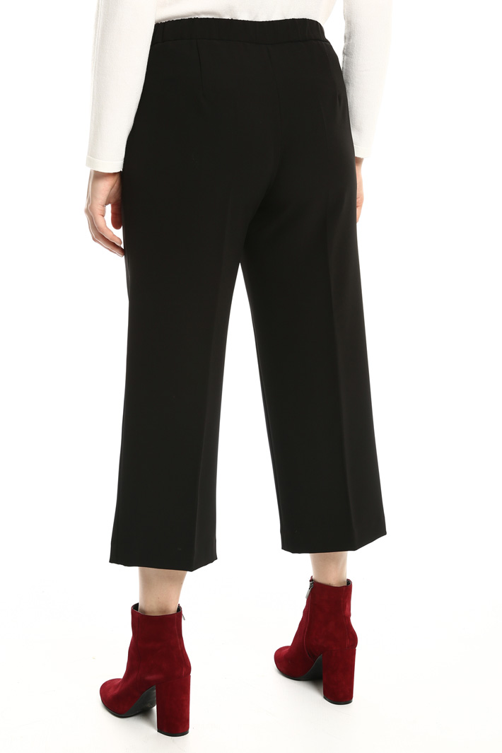 Stretch cropped trousers Intrend