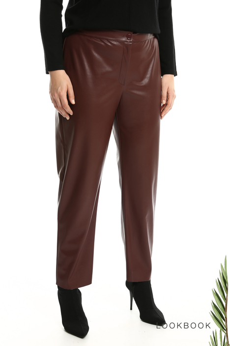 Coated trousers Intrend