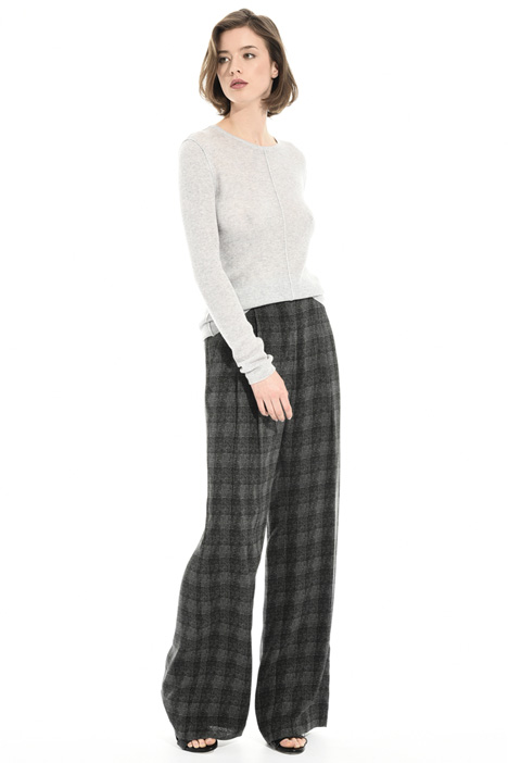 Wide silk trousers Intrend