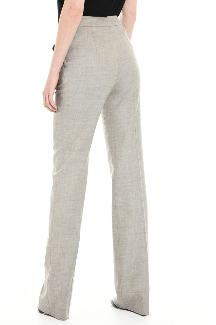 Flared wool trousers Intrend