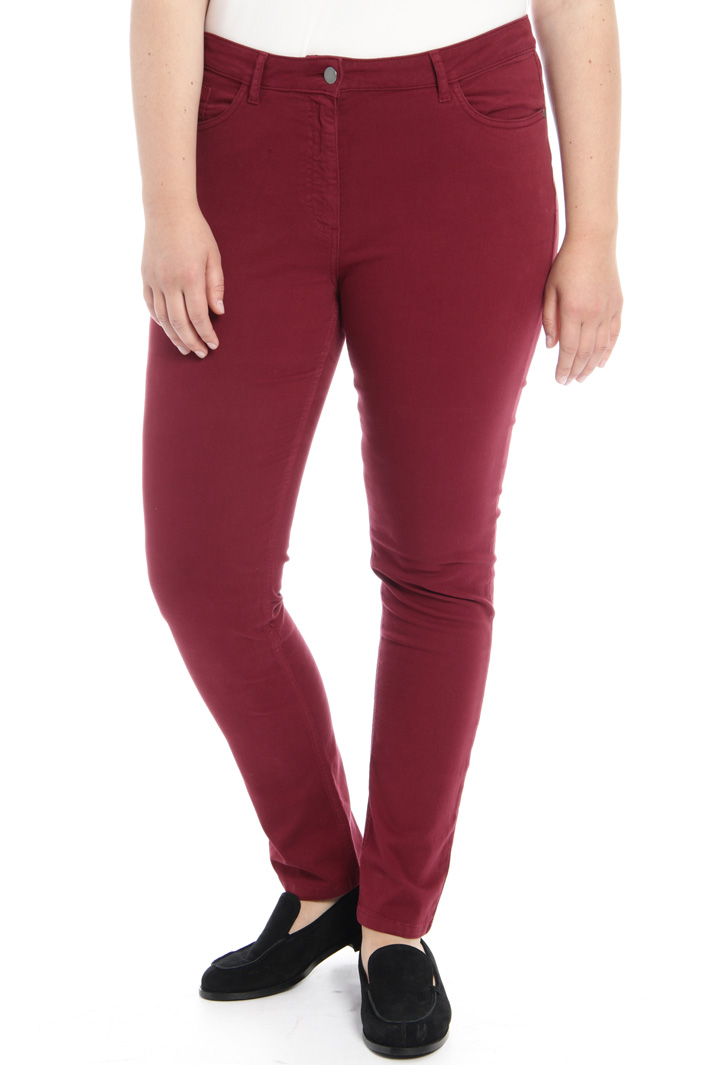 Skinny cotton trousers Intrend