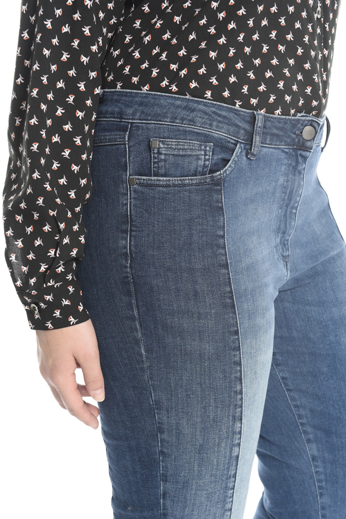 Two-tone jeans Intrend