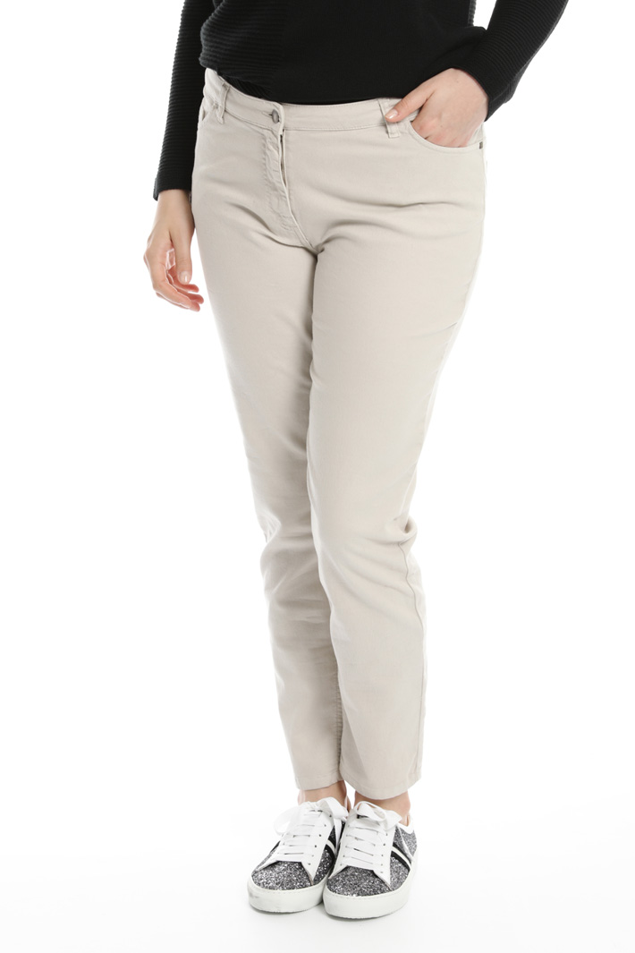 Stretch denim trousers Intrend