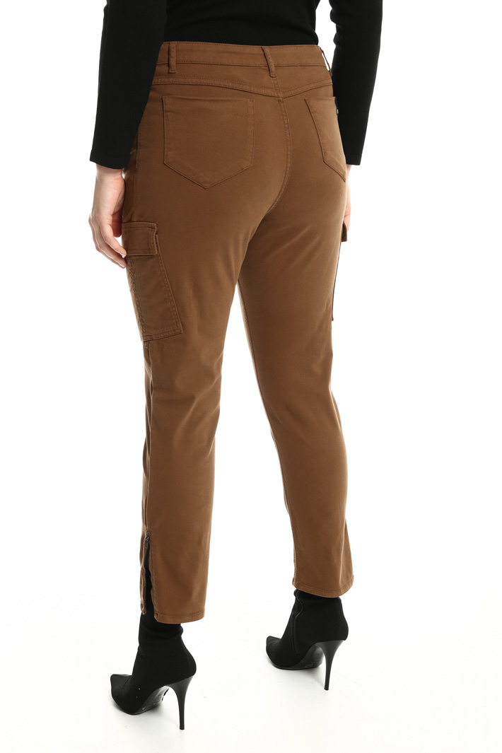 Cotton cargo trousers Intrend