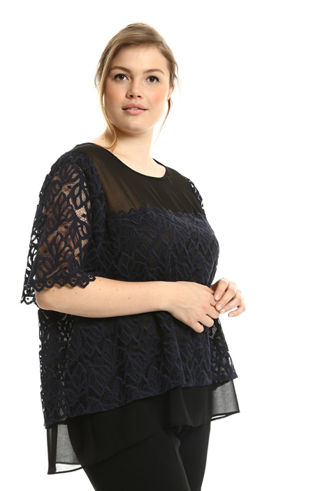 Rebrodé lace tunic  Intrend