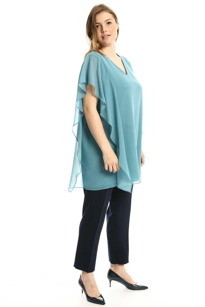 Long georgette tunic  Intrend