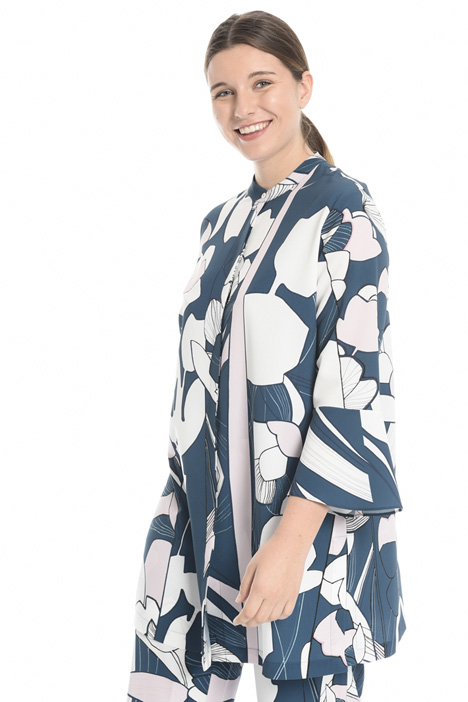 Printed crepe shirt Intrend