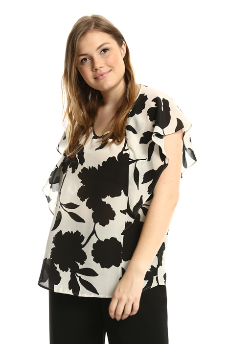 Crepe de chine tunic Intrend