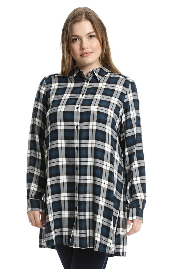 Long viscose shirt Intrend