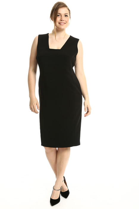 Sheath dress in stretch fabric  Intrend