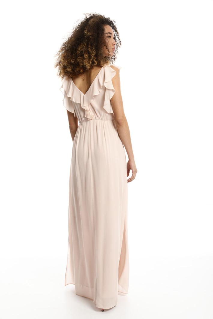 Long ruffled dress Intrend