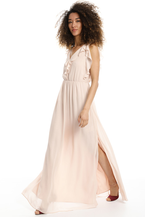 Long ruffled dress Intrend