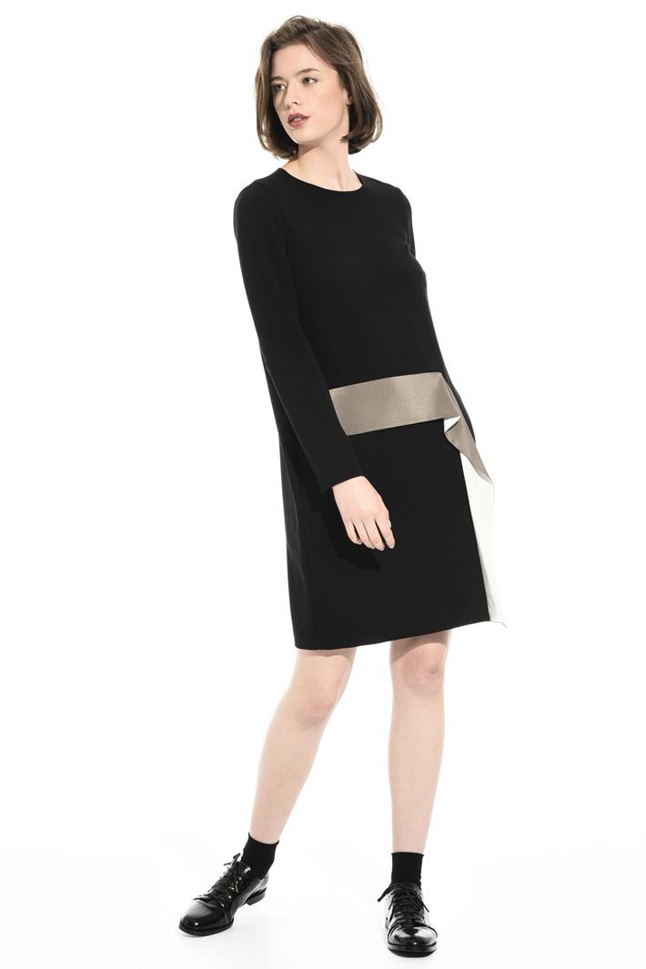 Short triacetate dress Intrend