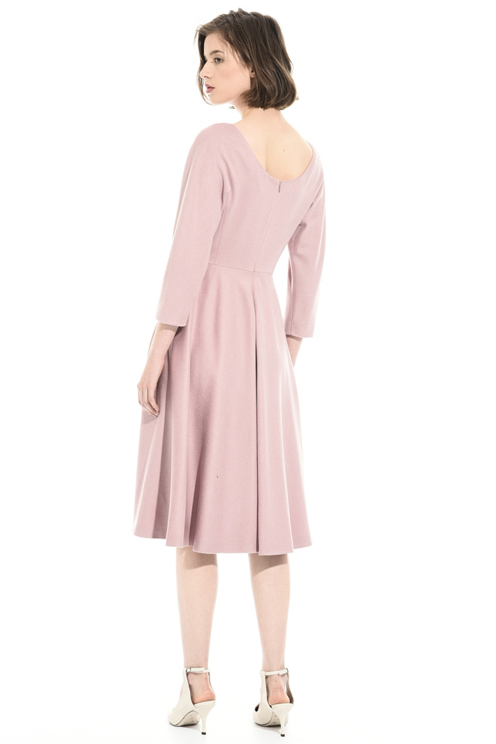 Camel drap dress Intrend