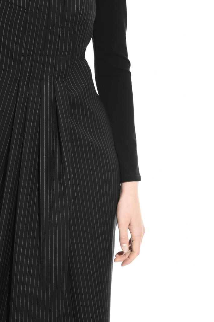 Pinstriped dress Intrend