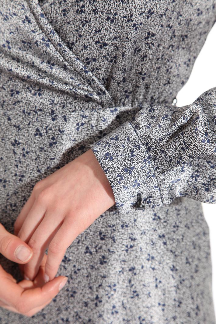 Fluid silk satin dress Intrend