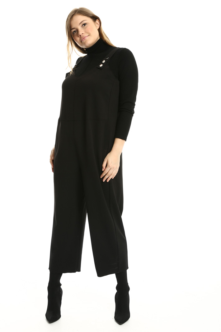 Jumpsuit with grosgrain straps Intrend