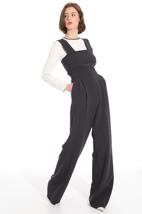 Wool crepe jumpsuit Intrend