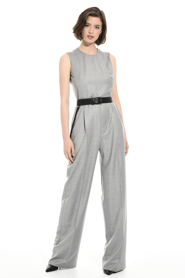 Virgin wool jumpsuit Intrend