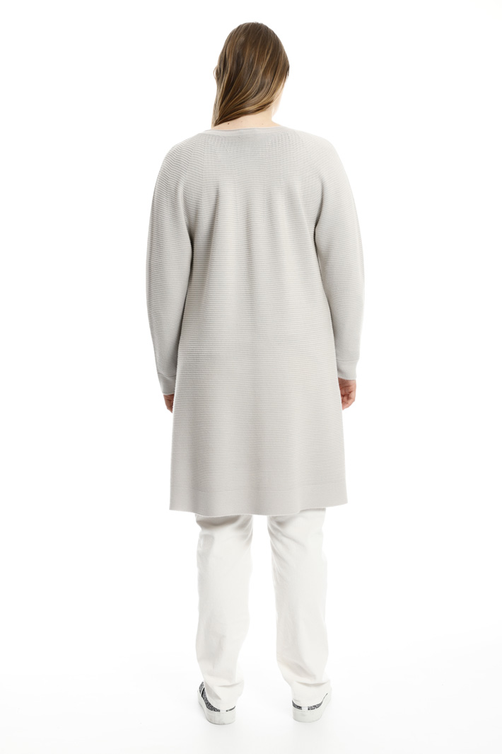 Long wool cardigan Intrend