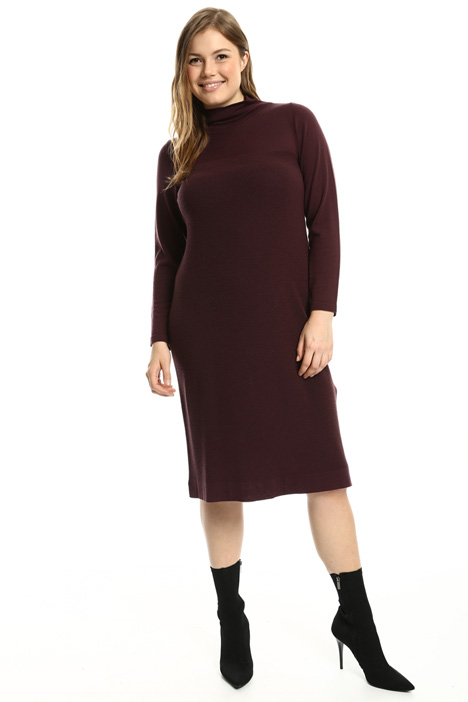 High neck knit dress Intrend