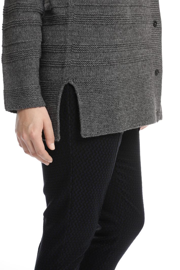 Links-links stitch cardigan Intrend
