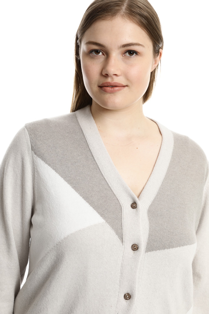 Cardigan with buttons Intrend