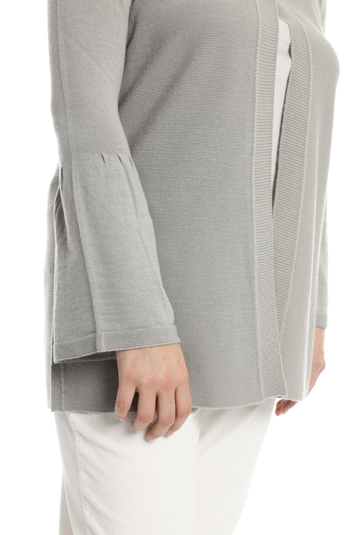 Sweater with flared sleeves  Intrend