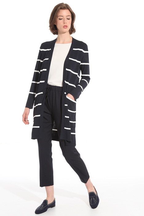 Viscose crepe cardigan Intrend
